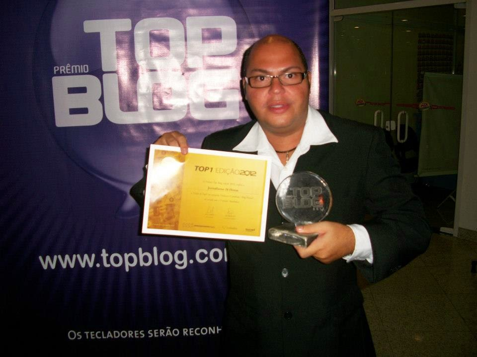 Premiação Top Blog