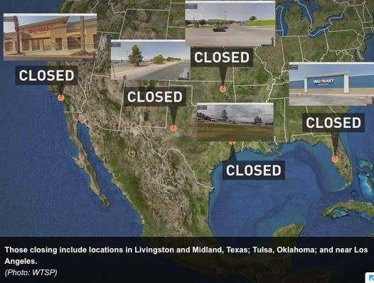 Americké speciální jednotky zabraly několik obchodů Walmart pro vojenská cvičení