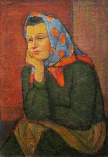 Маргит Сельская, Портрет женщины, 1960