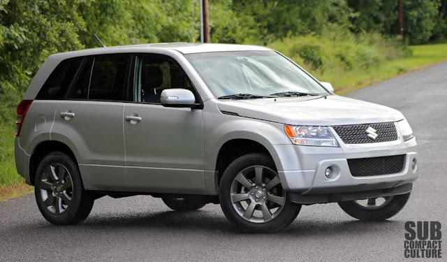 2012 Suzuki Grand Vitara Ultimate Adventure
