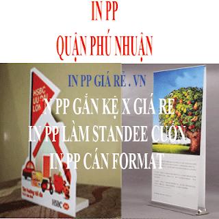 In PP tại quận Phú Nhuận