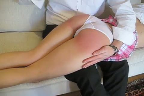 Vid apart spanking on panties GREAT