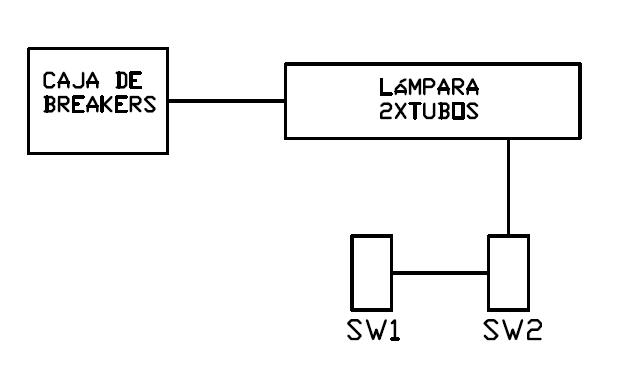 Instalacion de cajas de lampara fluorescente