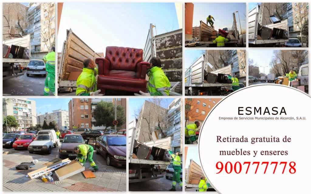 RETIRADA DE MUEBLES Y ENSERES.