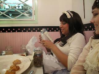 kitchenette,kitchenette restaurant,kitchenetterestaurant,kitchenette restaurant nyc,new york,nyc,ild,international lolita day,new york international lolita day,lolita,lolita fashion, tea,cake,desserts,white elephant exchange,secret santa,gifts, tea,