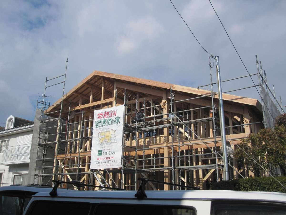 地熱活用の家 四日市 鈴鹿市 自然素材の家 みのや 注文住宅 間取りプラン30坪