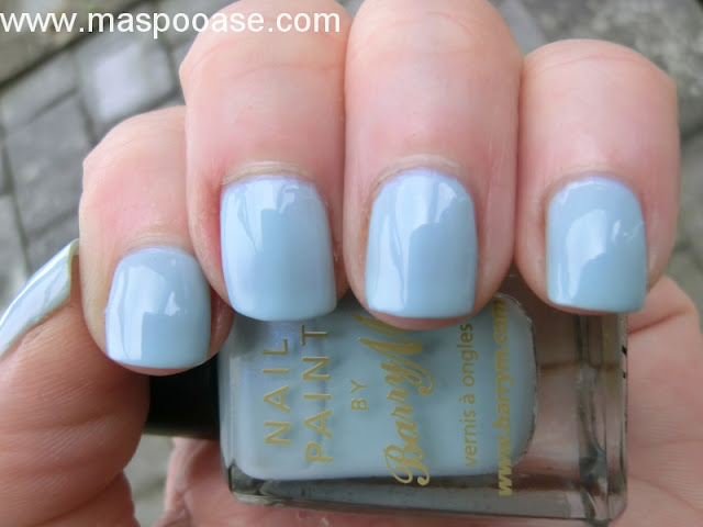 Barry M Blue Moon Swatch