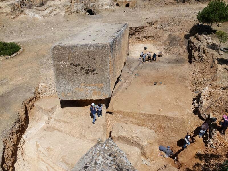 μεγαλύτερος αρχαίος μονόλιθος