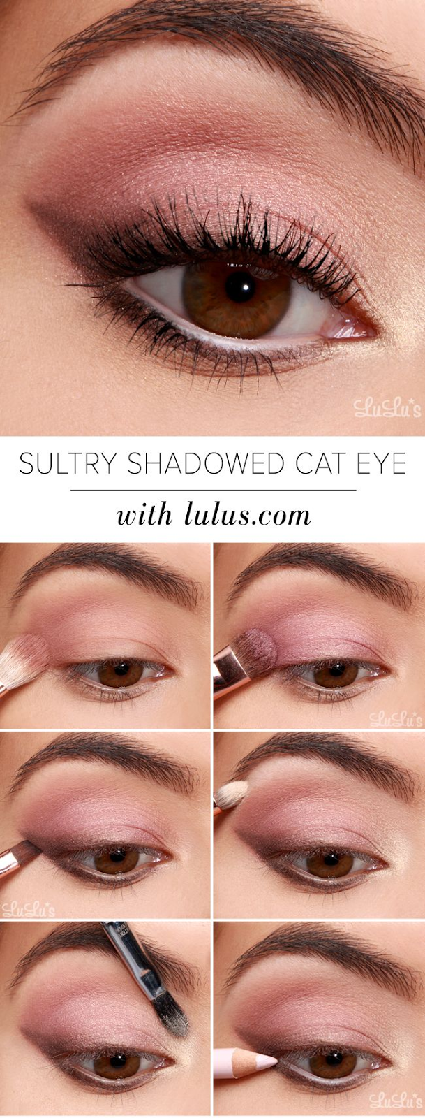 How-to Sultry Shadowed Cat Eye Tutorial