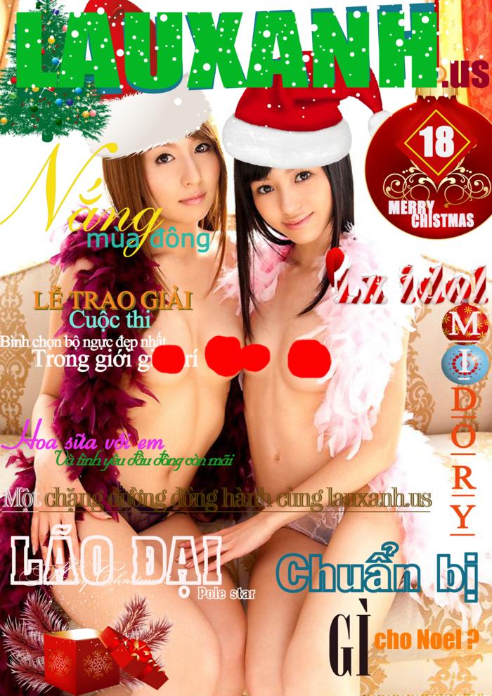Tạp Chí ngưới lớn Việt Nam 18+ LAUXANH số 18