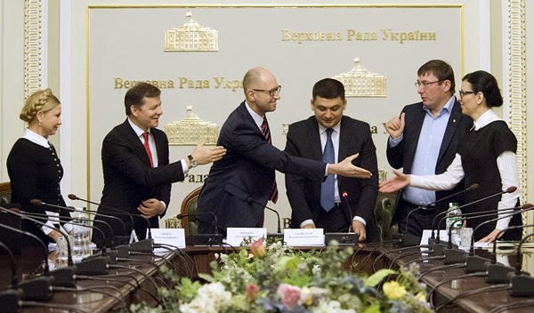 Пять демократических партий – победителей внеочередных парламентских выборов – подписали коалиционное соглашение