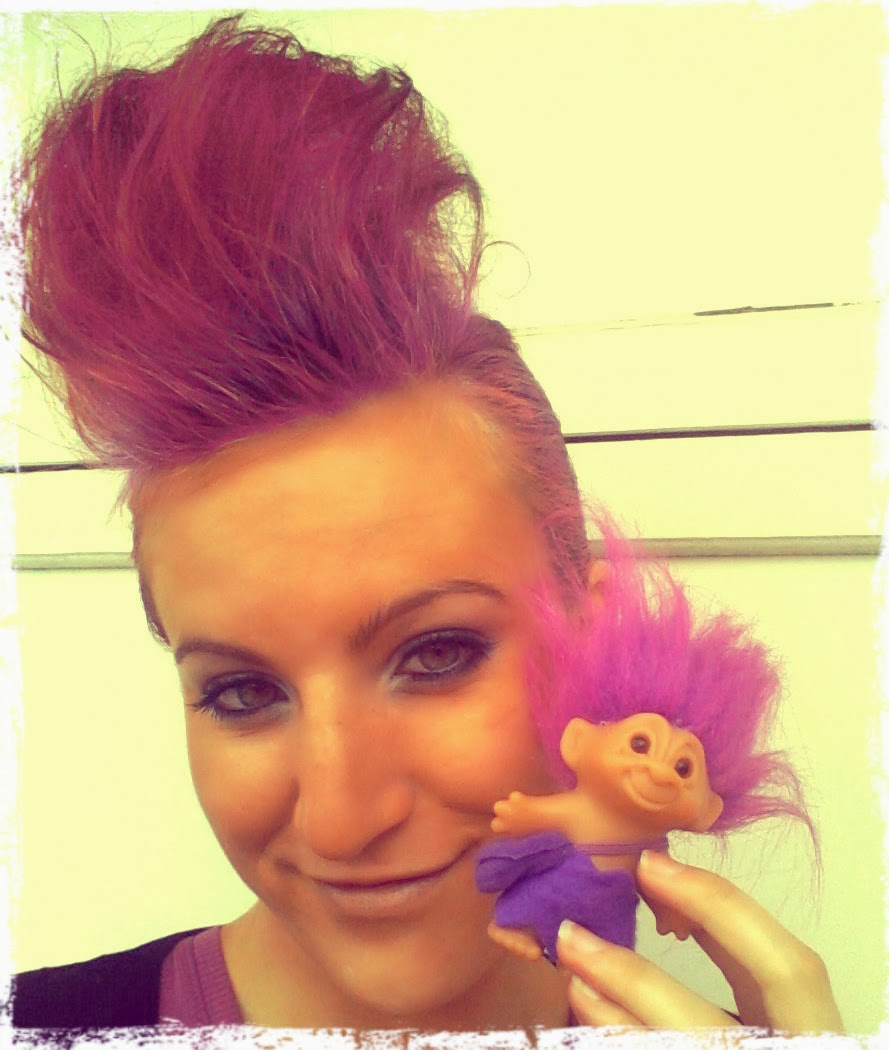 Polychrome: Troll Doll Makeup And Hair