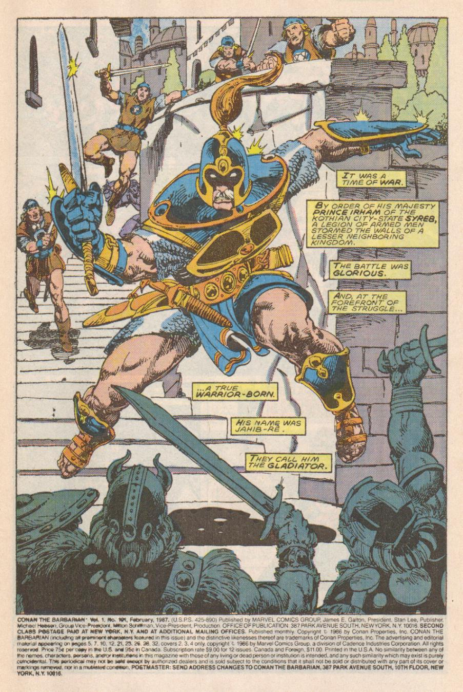 Conan the Barbarian (1970) Issue #191 #203 - English 2