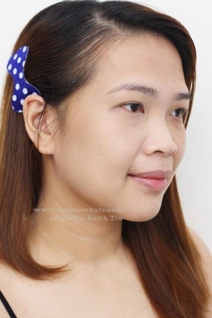 A photo of Etude House Correct & Care CC Cream Silky on a girl