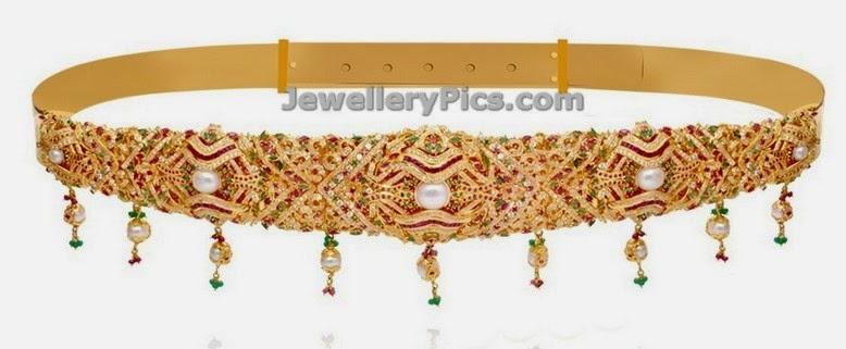 latest vaddanam designs by grt