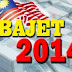 Bajet Belanjawan 2014- Intipati