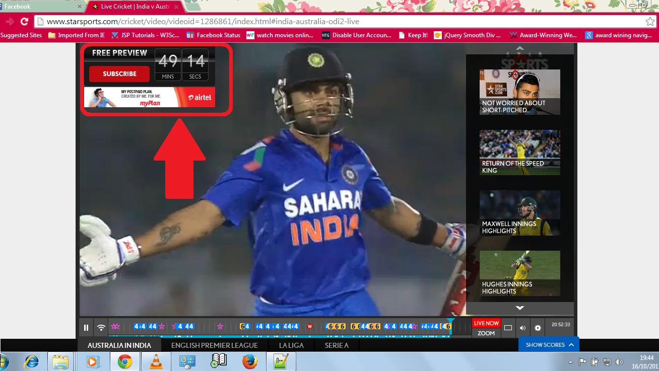 Live cricket streaming psl online