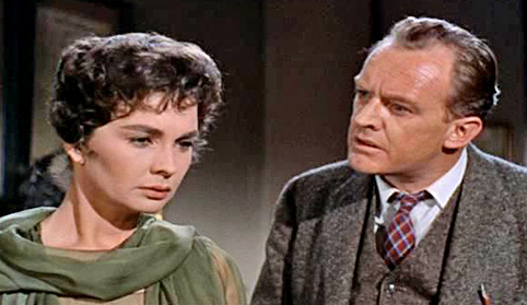 Jean Simmons Arthur Kennedy Elmer Gantry 1960 movieloversreviews.blogspot.com