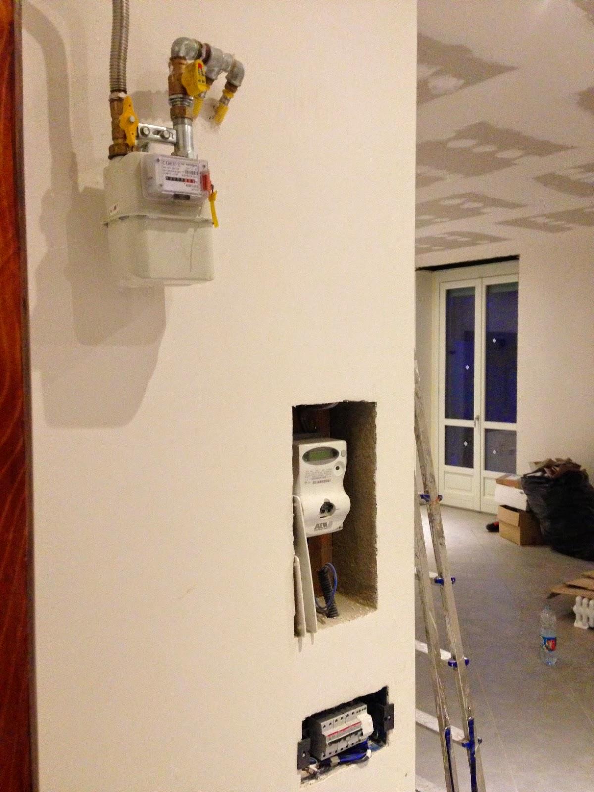 Loft abitare un 39 idea per nascondere i contatori della casa - Contatore gas in casa ...