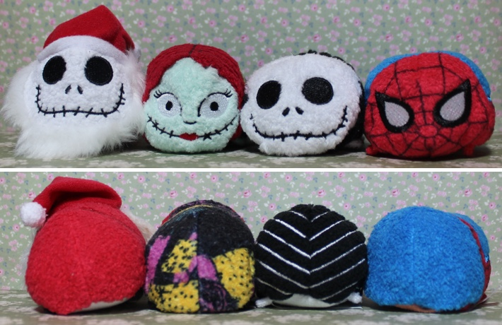 the nightmare before christmas spiderman tsum tsum