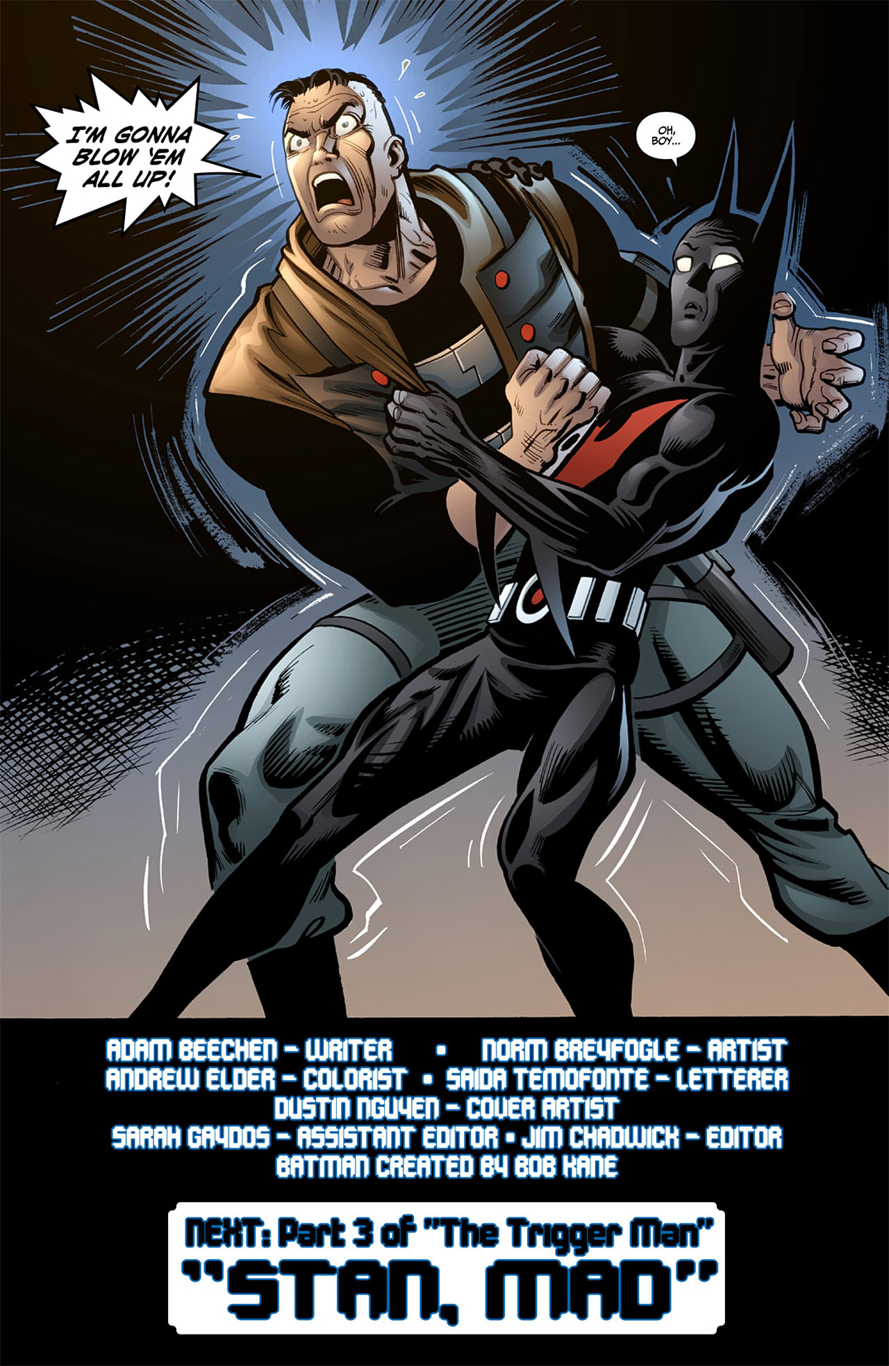 Batman Beyond (2012) Issue #4 #4 - English 22