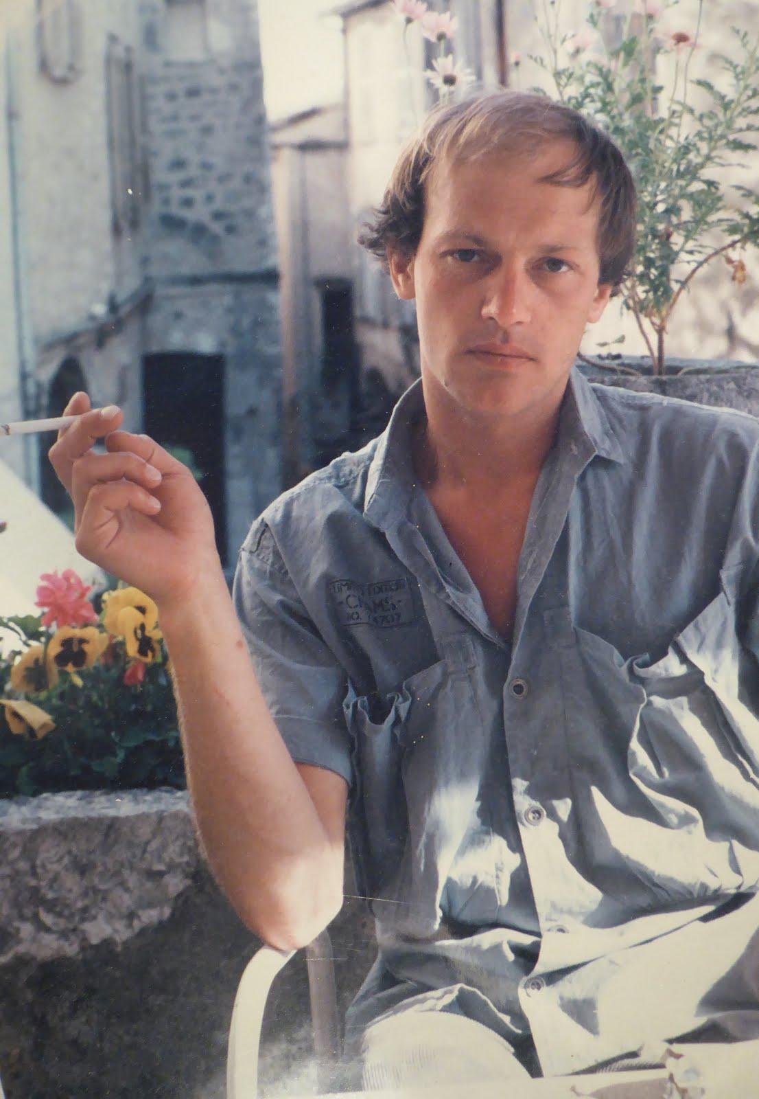 ALEXANDER RABINE IN SAINT-PAUL-DE-VANCE, JUNE 1985
