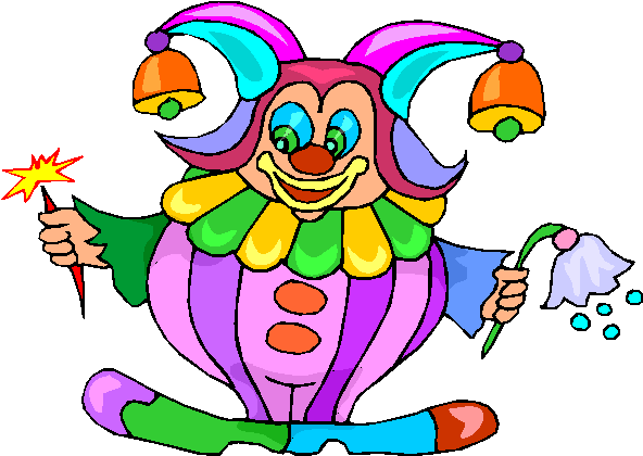 Funny Clown Free Clipart