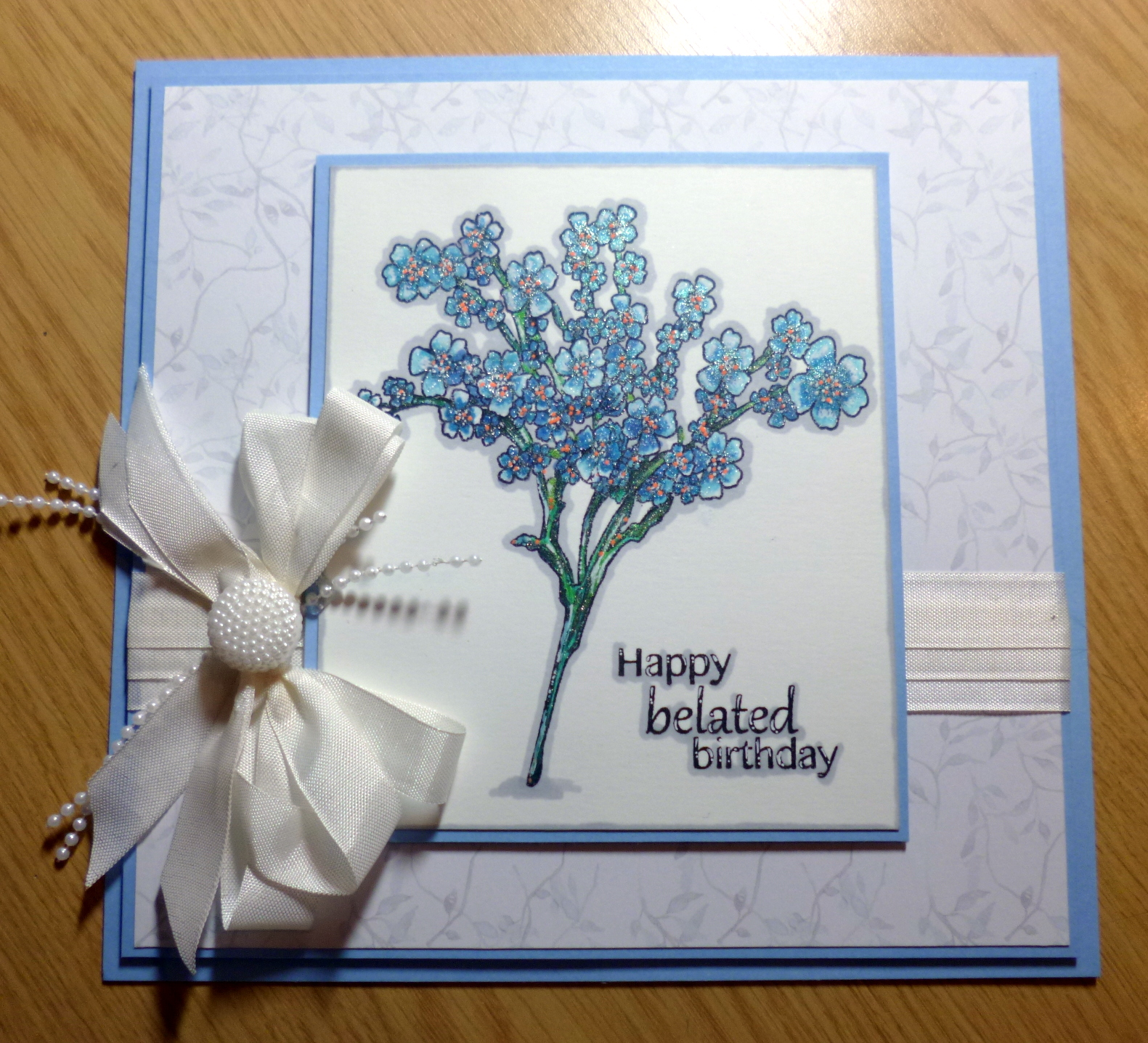 Inky kim craft creative expressions thursday this one simple and let the stamp speak for itself as it is so pretty using just a piece of the wonderful paper pad we on the dt were sent for october izmirmasajfo