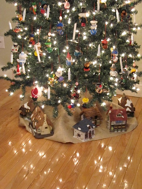 Sew Many Ways Christmas Village Idea