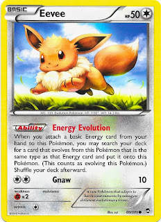Eevee Furious Fists Pokemon Card