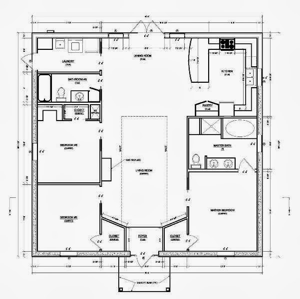 Modern small house plans ayanahouse Small modern home floor plans