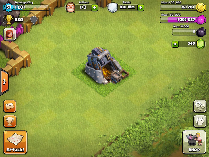 Gold Mine - Resources - Clash Of Clans Guide - FreeApps.ws