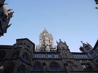 Innenhof Neues Rathaus München