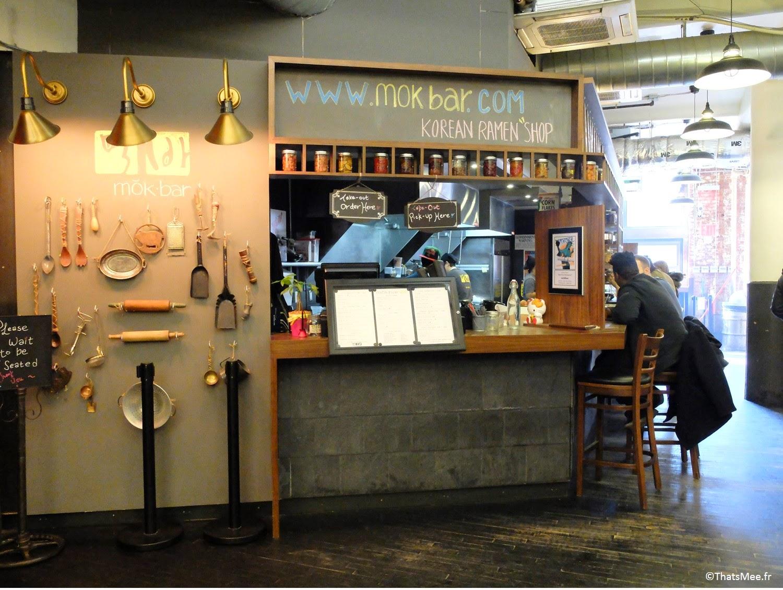Mok Bar, street food coréenne NYC Chelsea Market