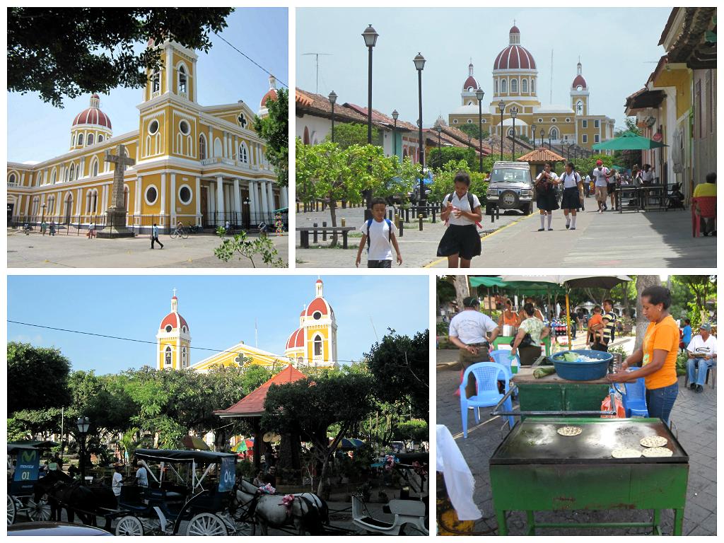 Plaza central de Ganada (Nicaragua)