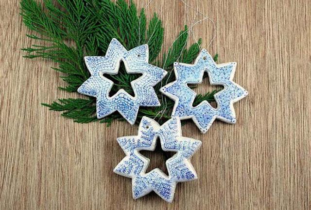 Manualidades navidad con pasta de sal