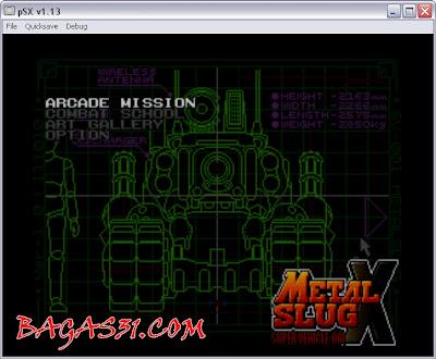 Metal Slug X Game 2