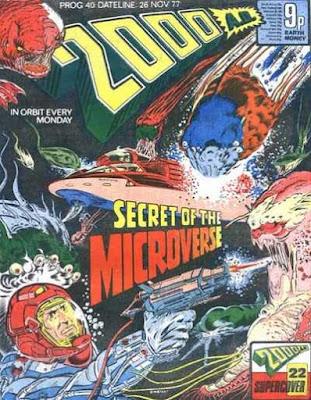 2000 AD #40, November 1977