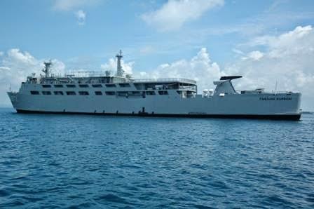 Dua Kapal Perang Kolinlamil Dukung Operasi di Wilayah Timur
