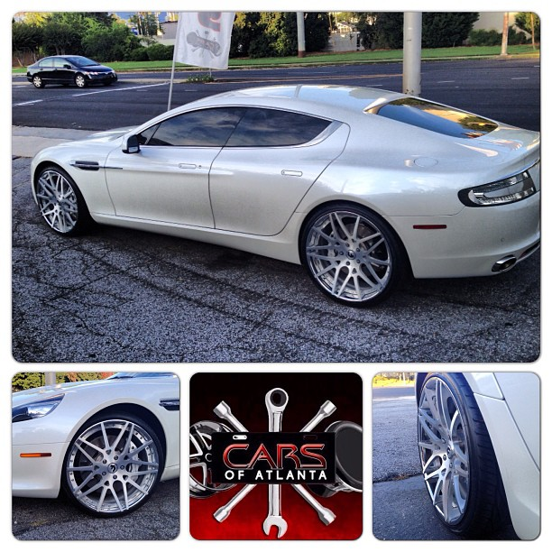 Bernies cargram feed for july 30th doing donuts with bernie cars of atlanta carsofatlanta finally updated their instagram by showing off an aston martin rapide that they changed the wheels and tires for sciox Images