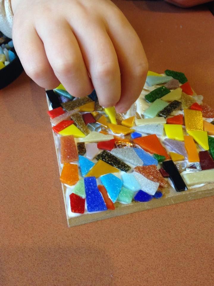 Mosaic workshop, family workshop