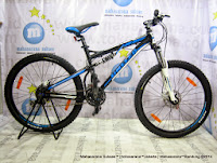 Sepeda Gunung United Command FX77 (3) Full Suspension 24 Speed 26 Inci