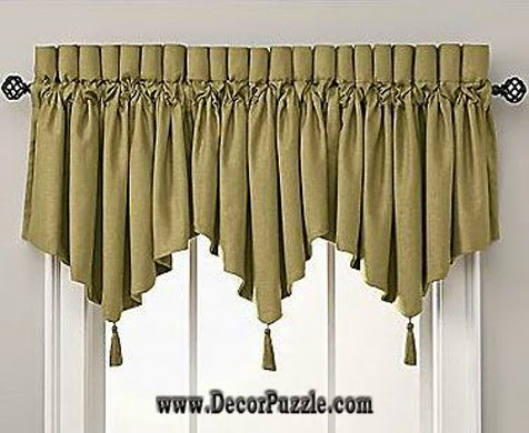Diy Valance 2017, Stylish Valance Designs And Styles For Small Window