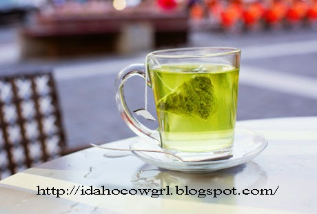 Diet - Drinking Green Tea