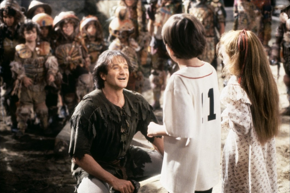 robin williams peter pan