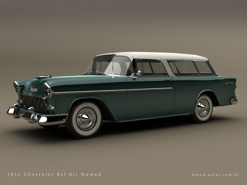 Chevrolet Nomad 1955 Pictures