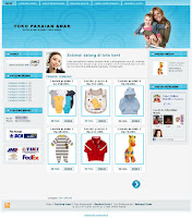 template pakaian blogspot
