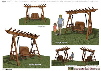 home garden plans furniture plans arbor swing plans home garden plans sw101 arbor swing plans construction
