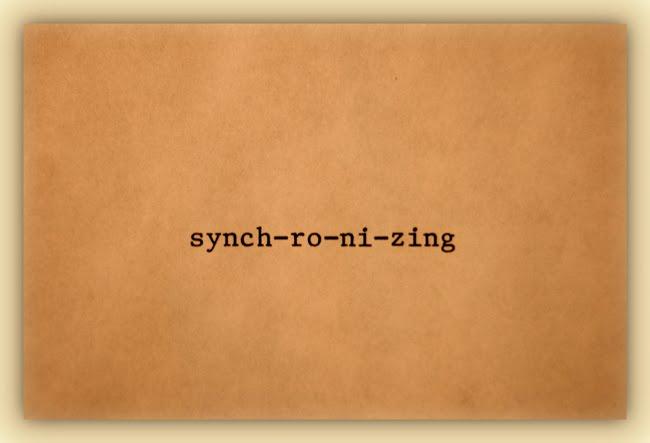 synch-ro-ni-zing