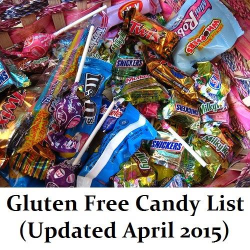 glutenaway gluten free candy list updated april 2015